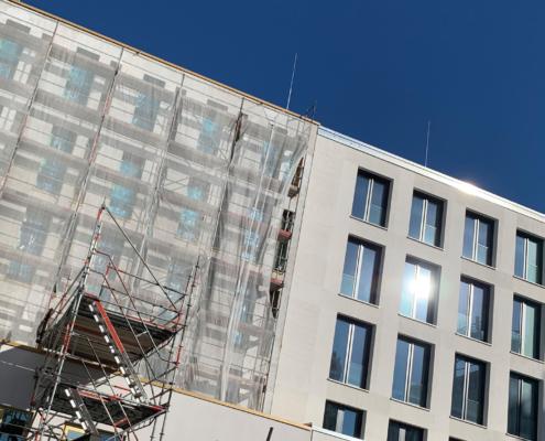 Fassadenarbeiten-Verputzen,Klinker,Farbe-Malerarbeiten-Berlin