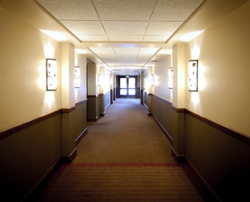 Bodenbelagarbeiten-Hotel-Treppenhaus-Parkett-PVC-Berlin-Büro